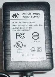 ENG EPAS-101WU-05 AC ADAPTER 5VDC 2A SWITCH-MODE POWER SUPPLY 9