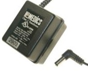 HOMEDICS ZB-35B6V300 AC ADAPTER 6VDC 300mA USED 2x5.5x12mm -(+)-